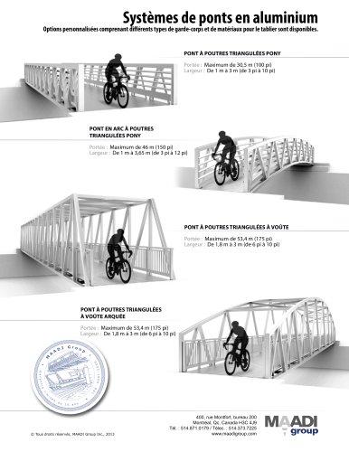 MAADI Modèles de ponts en aluminium