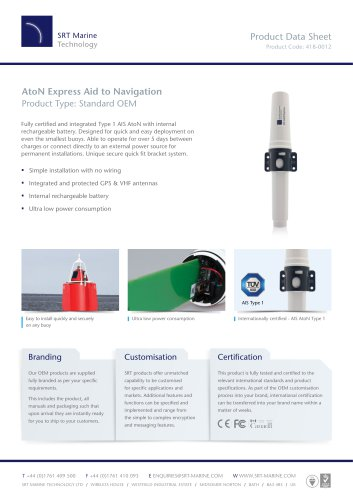 AtoN Express Aid to Navigation