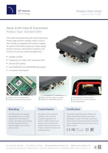 Neon 2 AIS Class B Transceiver