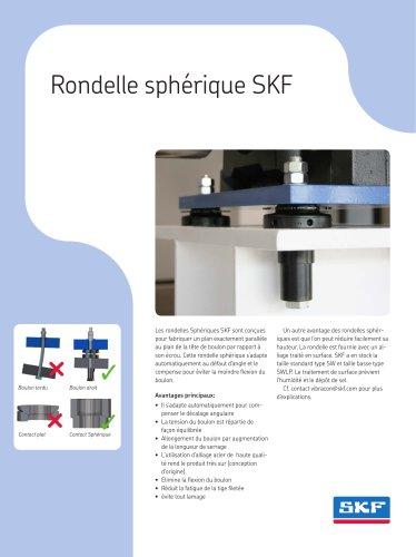 Rondelle sphérique SKF