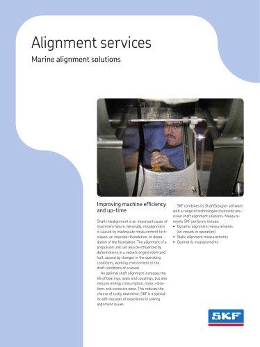 SKF Marine Alignment Solutions