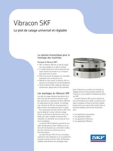 Vibracon SKF Le plot de calage universel et réglable