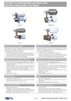 WATER PRESSURE SYSTEMS 2X-8X-2L-8L