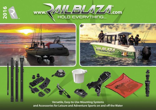 RAILBLAZA catalogue 2016