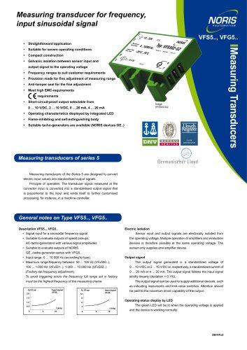 Datenblatt VFS5