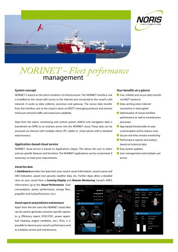 NORINET - Cloud-based solution