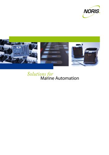 NORIS Solutions for Marine Automation