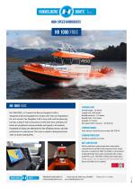 Hukkelberg Boats HB 1000 FRDC - product sheet