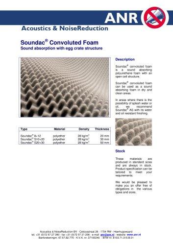 Soundac Convulated foam