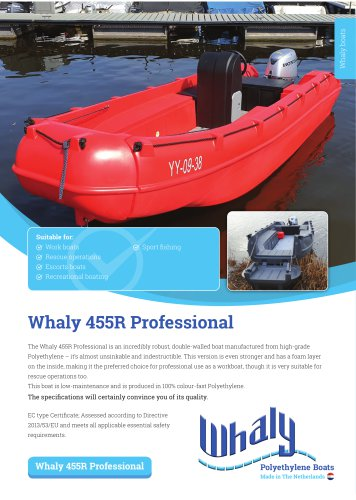 Whaly 455R Professional