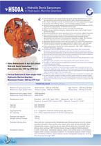 H500A HYDRAULIC MARINE GEARBOX