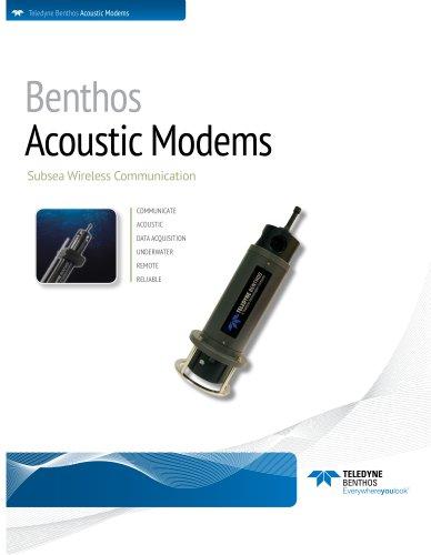 Acoustic Modems Brochure