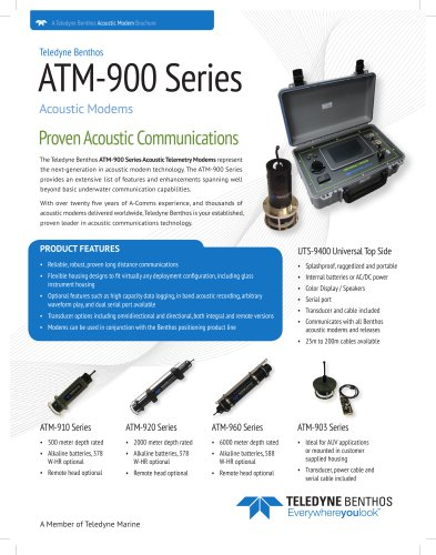 ATM-900 Series