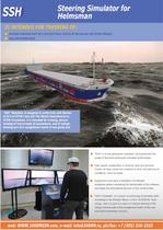 SSH Steering Simulator for Helmsman