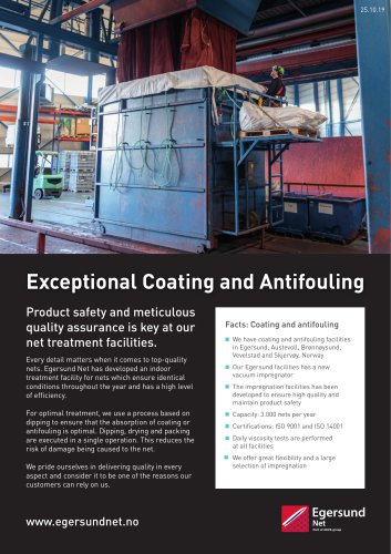 Coating and Antifouling