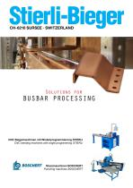 Solutions for BUSBAR PROCESSING