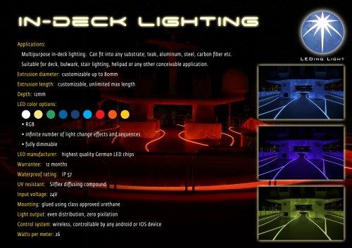 LEDing Light in-deck lighting