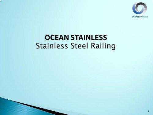 Ocean Stainless Railing Catalog