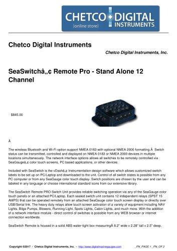 Chetco Digital Instruments