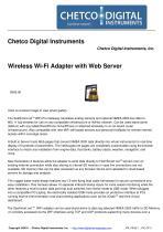 Wireless Wi-Fi Adapter with Web Server