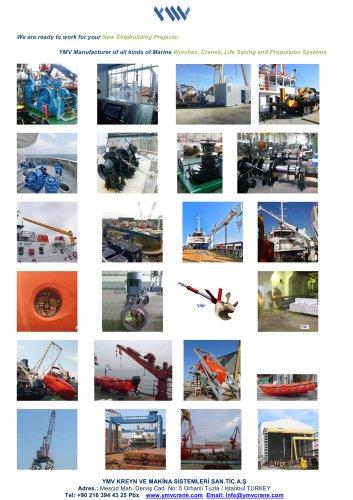 YMV Winch Crane Life Saving Propulsion |All Products