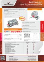 DFM autonomous fuel flow meters