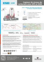 DUT-E GSM Capteur de niveau de carburant
