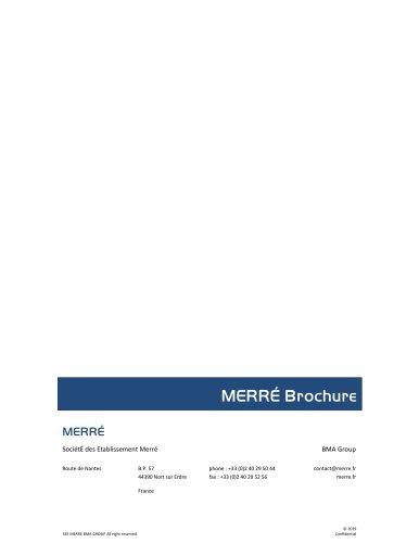 MERRÉ brochure