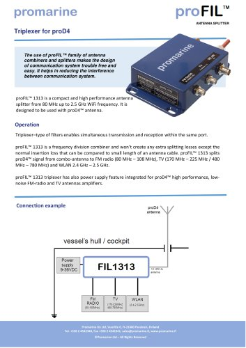 proFIL™ 1313 i