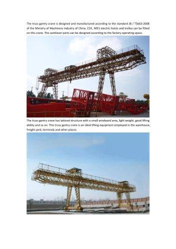 Truss Gantry Crane
